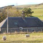 Scottish borders cottage